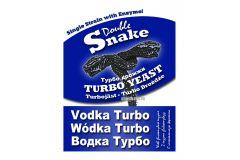 Спиртовые турбо дрожжи Double Snake Vоdка turbo