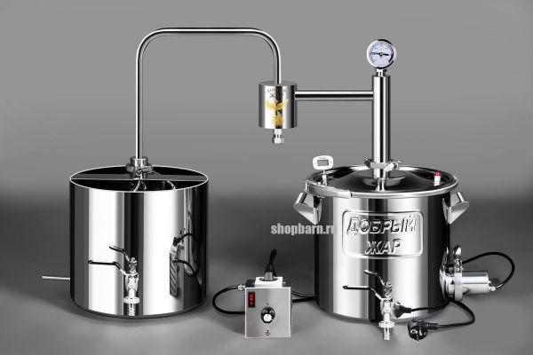 Дачный самогонный аппарат Добрый Жар 40 литров