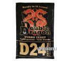 Спиртовые турбо дрожжи DoubleDragon D24