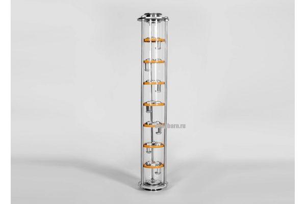 Тарельчатая колонна D75 7 уровней очистки