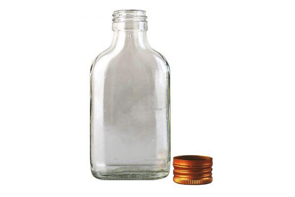 Бутылка фляжка 100 мл с крышкой