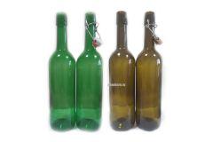 Винная бутылка с бугельной пробкой 0,75 л