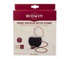 Гибкая трубка для перелива вина с грушей  Biowin