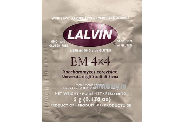Дрожжи винные Lalvin BM 4х4