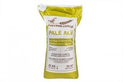 Солод  ячменный  Pale ale (Курский солод), 25 кг.